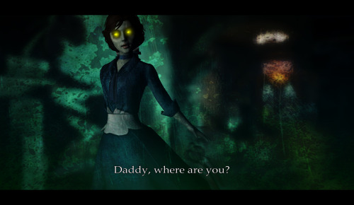 fuckyeah-bioshockinfinite:  Daddy, where are you? by ~Nastya-Nekk666