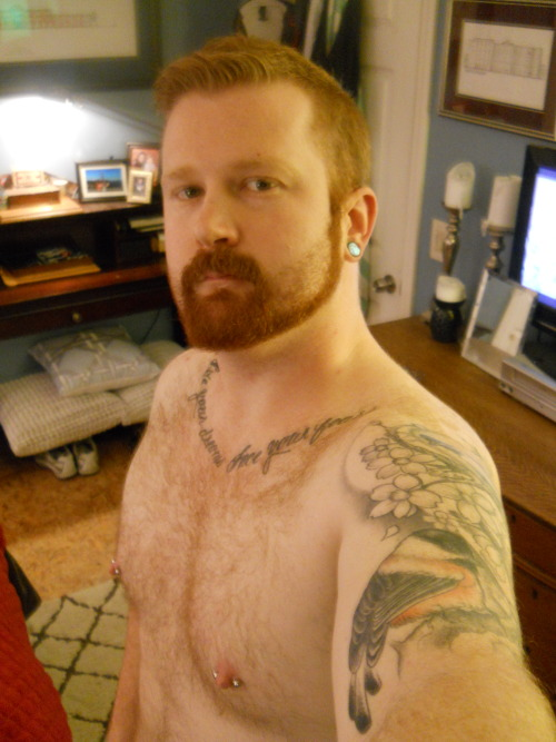 ginger-beef:  Holy Beard, Is my hair really that color?