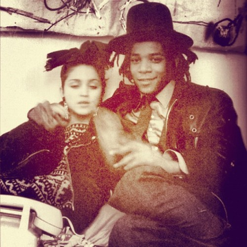 #Madonna #Basquiat AND THEN THEY HAD SEX