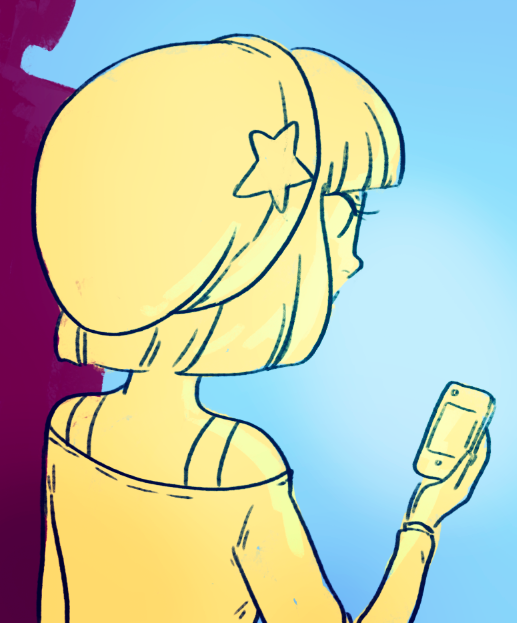 isthatwhatyoumint:  i wonder who's a blowin' up george's phone? monster pop! updates every wednesday and thursday! you can start reading here or read the new page here