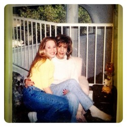 #throwbackthursday with my momma in High school!!! Crazy! Back in Az. #goodmemories #loveaz