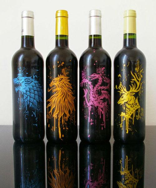 xombiedirge:  Custom Game of Thrones Wine BoxbyOskunk