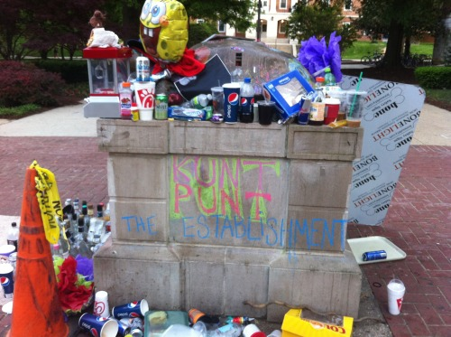 """KUNT PUNT THE ESTABLISHMENT""  <3 UMD <3 Testudo"