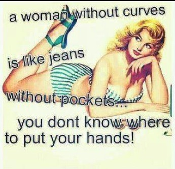 kaykione:  That Is So True! Gotta Love Curves😘