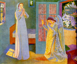 Maurice Denis (1870-1940), The Annunciation, 1912.