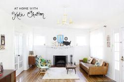 (via At Home With Katie Shelton - A Beautiful Mess)