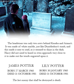 harry potter hp jily rest in peace lily and james theultimatepotterhead