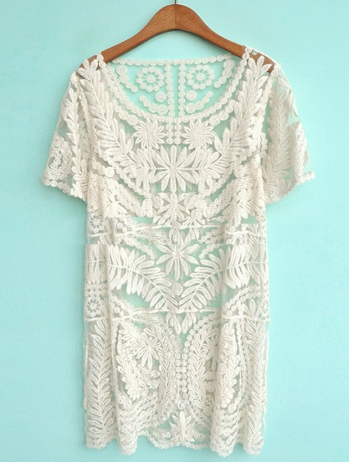 blueberrymodern:  lace dress