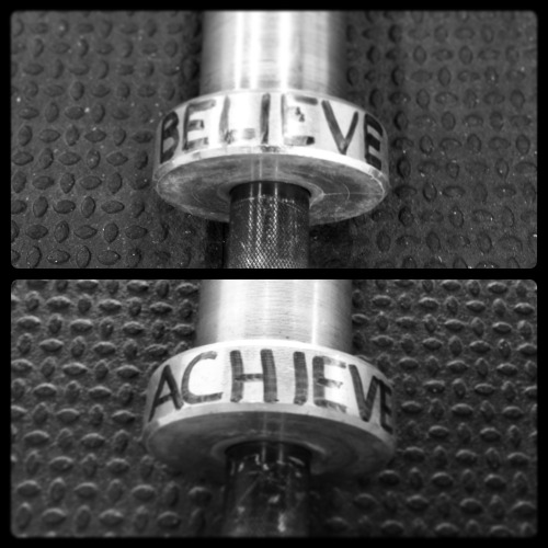 "believe | achieve I've had these words tattooed on my wrists for three years now. It started out as a way to motivate myself - knowing that if I believe in myself, I will achieve the things I want. They've always been there; carefully placed so I always see them. A constant reminder that I am worth it. I've never really been tested like I was these past five weeks.It's something that I've taken for granted, without realizing it. After Regionals finished last year, I set my mind on ""I want to finish in the top 10 after the Open,"" but it was more a hope than it felt a tangible goal. Or at least how I recognized it at that moment when the words escaped my mind.  Fast forward through the 2013 Open, and I finished in 8th place in Canada West, achieving my ""hope goal."" It took 13.1 for me to realize (and understand) that this was more than just a ""hope"". That if I truly believed in myself, top 10 would be achievable.  What matters more to me is not what the final outcome numbers say, or where my name lies on the leaderboard (although, it is nice to see it where it is). What matters more to me is the lessons that I learned; that even four years into this, I still can feel like a naive and inexperienced athlete sometimes.  I learned what a true 100% capacity feels like - going out there and just throwing your heart on the floor for everybody to see. I learned that in failure there is always a lesson, but you need to choose to accept it and learn from it. I learned how to deal with failure in front of all of my clients - something I will admit that I feared the most. I learned about grace, and what makes second chances worthy.  And most importantly, I saw what it really means to believe in myself. That I'm capable of this just as they are; that I deserve to play too.  believe 