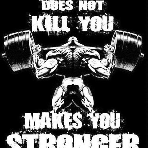 Stronger Than Yesterday!!! No Pain No Gain!!!