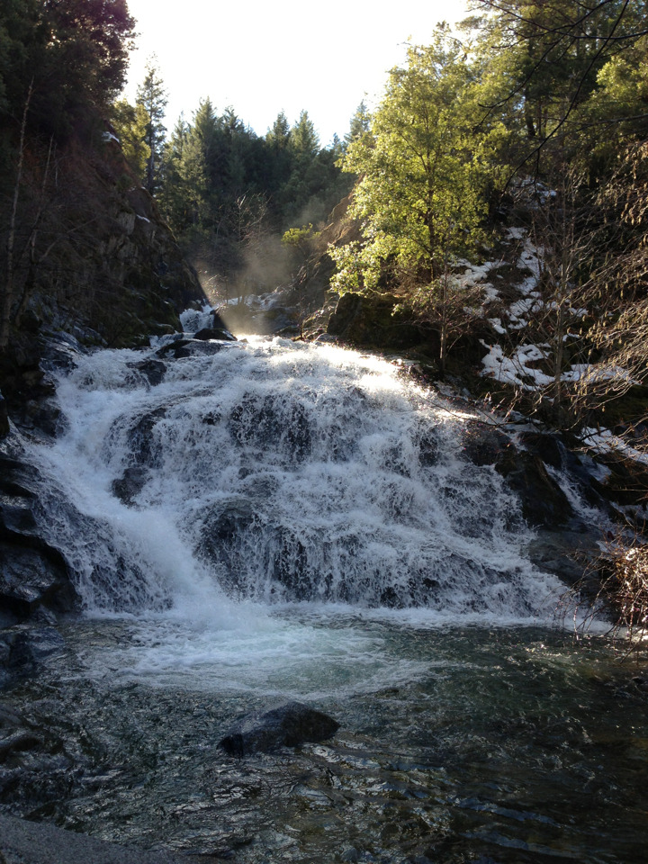 Whiskeytown Falls. Whiskeytown, CA.