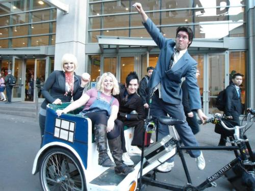 Doctor Who Shenanigans at Emerald City Comic Con!
