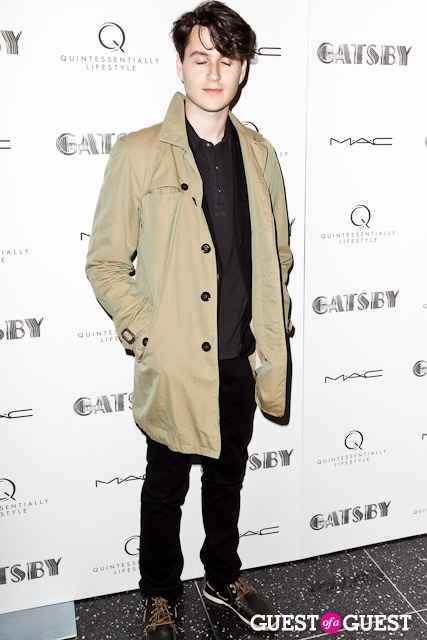 Ezra Koenig attends the Private Screening of THE GREAT GATSBY hosted by Quintessentially Lifestyle (Photo by Ken Arcara via Guest of a Guest)