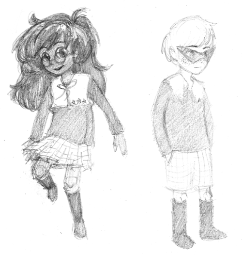but you guys what if gakuenstuck aka the aDVENTURES OF JOHN AND JADE IN THE LATENT ABILITY CLASS (dave is special class and his shades are alice-suppressing so that he doesn't time-trip at inconvenient moments) wait i'm going to run to my side to make long rambling posts about this