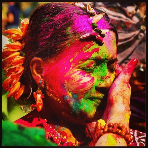 #Happy #holi #festival of #colors  (at Shenoy Nagar Park)