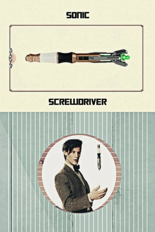 doctor who edits 11th Doctor 500 sonic screwdriver