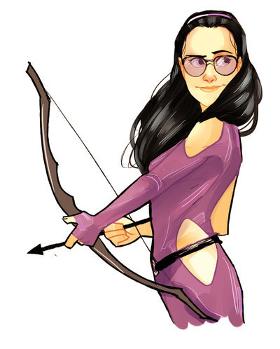 Kate Bishop AKA Professional Badass by Nami-Mi