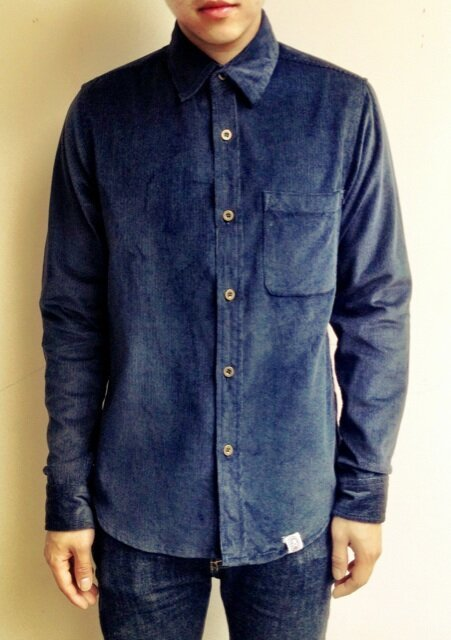 This is our first corduroy product from Carnival! Blue Corduroy Shirt Carnival  265.000 IDR Available size : S - M - L - XL