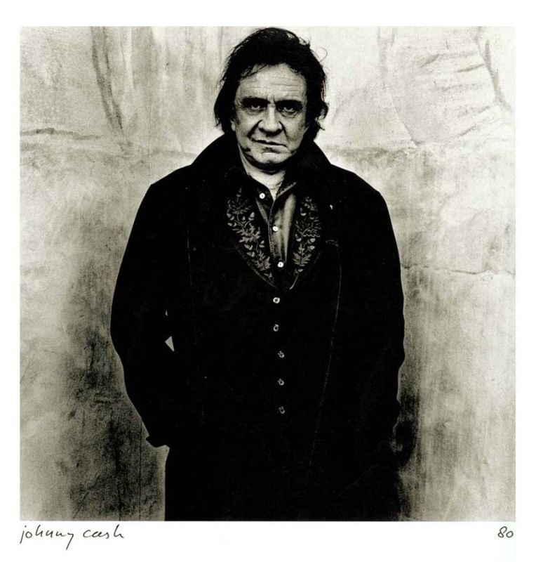 Johnny Cash by Anton Corbijn