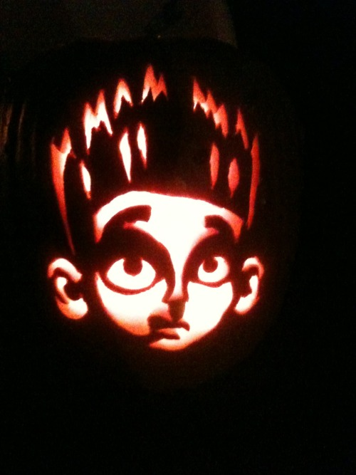 My pumpkin from Halloween 2012!! My most favorite pumpkin I've ever carved!