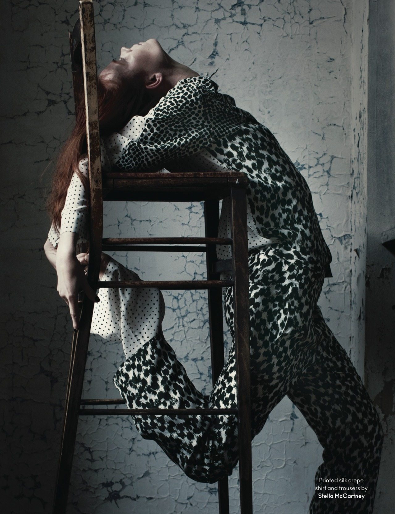 "stormtrooperfashion:  Irina Kravchenko in ""A Little Swelling"" by Julia Hetta for AnOther Magazine, Spring/Summer 2013"