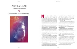 Talking to Nicolas Jaar for Bon Magazine