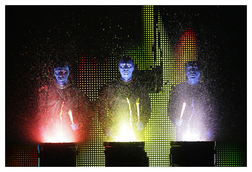 Blue Man Group. Photo: Paul Kolnik