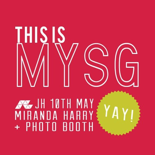THIS FRIDAY || MYSG 10th of May || Be there! Don't have I-wish-I-was-there regret! #sgjuniorhigh #mysg #getinvolved