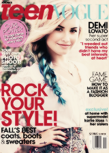 Demi + magazine covers