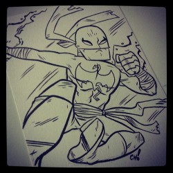 Here I have drawn Iron Fist. #comics