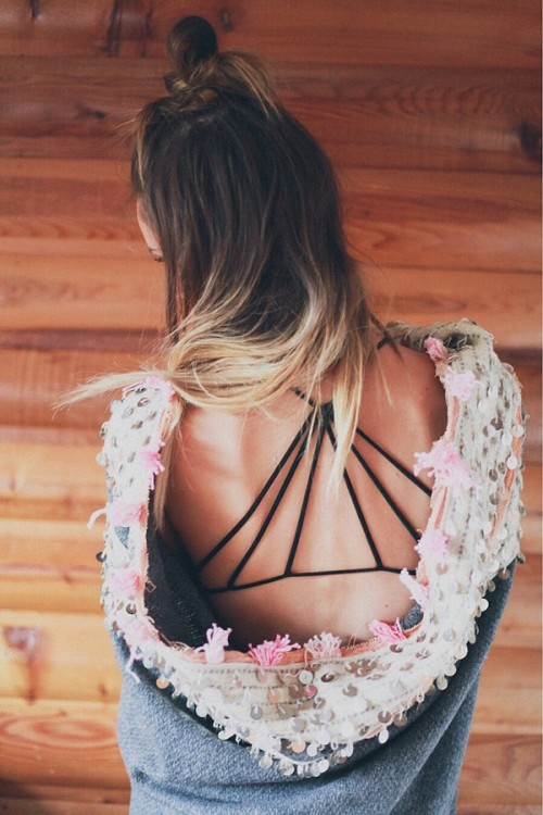 freepeople:  Strappy Back Bra styled by TreasureTravels on FP Me.