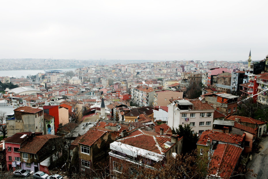Istanbul view.  See the entire tour with Erol Eskeci, shot by Georgia Kuhn.