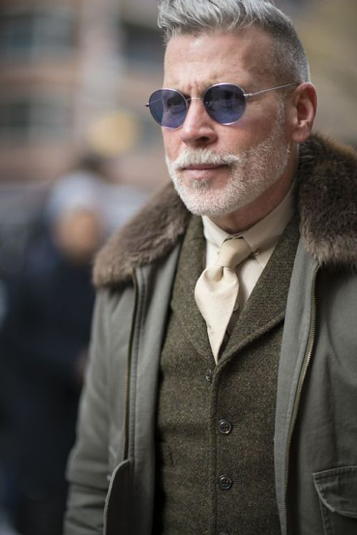 dapprly:  Nick Wooster.  Photo by Yangmin Zhao