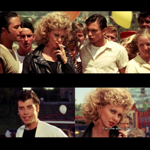 Movie of the day: Grease. It doesn't matter if you win or lose, it's what you do with your dancin' shoes.:)