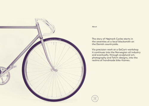 Højmark Cycles by Ineo Designlab — http://visuelle.co.uk/visuelle.co.uk ProjectHøjmark CyclesDesignIneo DesignlabLinkineo.dk