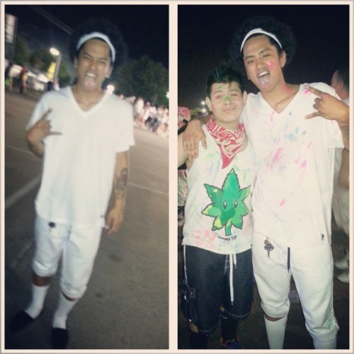 Before n after. @davidthenguyen #lic #lifeincolor #edm #rollin #rave #molly #plur #paintparty #dance