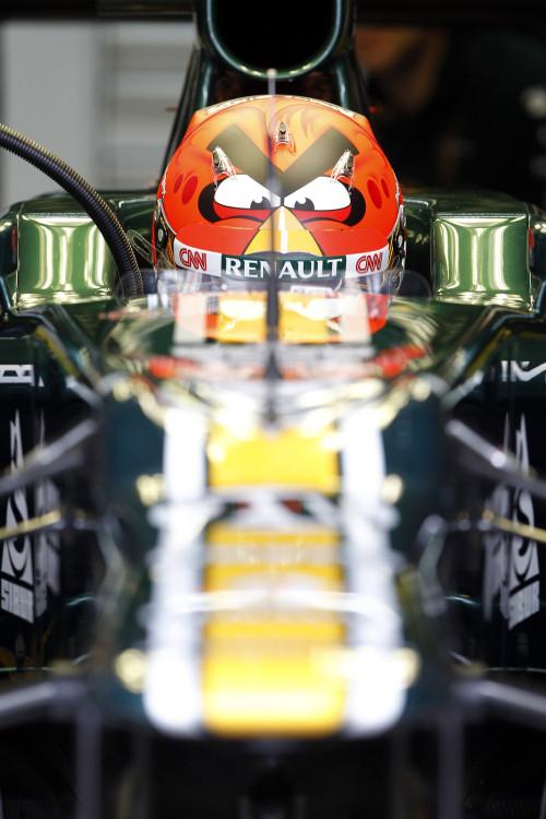 Best helmet in F1.
