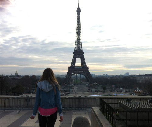 last day in pairs, Eiffel tower