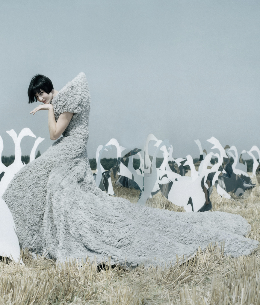 'The Greatest Show on Earth'  Erin O'Connor photographed by Tim Walker for Vogue UK, December 2004