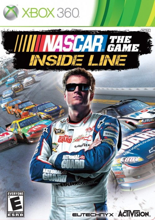 NASCAR The Game: Inside Line OH MY GOD DON'T STAND ON THE TRACK!