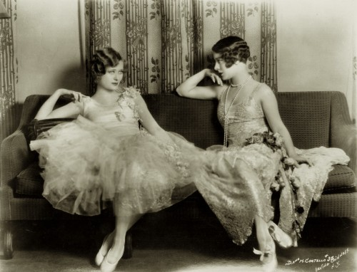 carolathhabsburg:  Dolores and Helene Costello, 1920s.