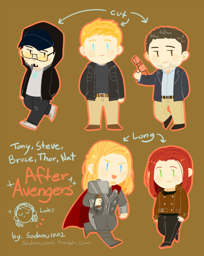sodamu1002:  I drew the Avengers after the movie 'Avengers'. It can be spoiler, specially Iron Man 3. I can't wait to watch Avengers 2 !!