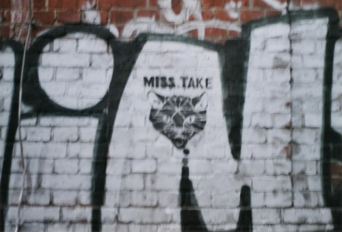 I am in love with Miss Take. Just sayin' Taken in Treptow, Berlin 2012