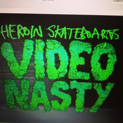 We support rad companies comprised of even radder human begins. Video Nasty dropping July 1. Trailer #1 featuring Rogie @stephenroe @heroinskateboarding Vimeo.com/heroinskateboarding #videonasty #heroinskateboarding