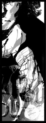 A little fragment of an illustration on the Sherlock BBC Fanbook: I will burn the art out of you.