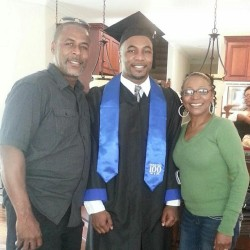 Grad and the parents @j_caesar11