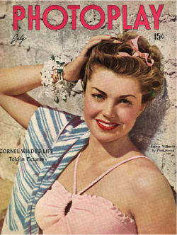 screengoddess:  Photoplay July 1946 / Esther Williams