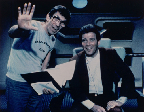 Nimoy and Shatner…