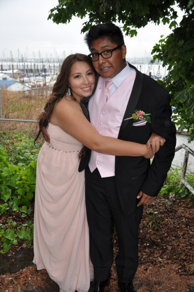 And prom was actually lovely! Got to fly up with the boooboo back to Portland, here for a little bit :)