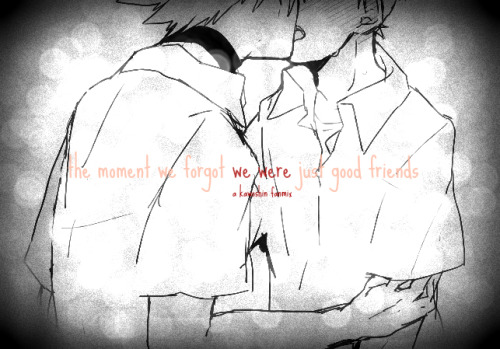 matsuokarin:  the moment we forgot we were just good friends - a kawoshin fanmix ♥(ノ´∀`)let them feel your heartbeat // a silent filmrunaways // the killerssun // two door cinema clubthe time to sleep // marble soundsunder the stars // morning paradeyou already know // bombay bicycle clubyoung blood // the naked and famoussleepless // baths  art source - 【♥】